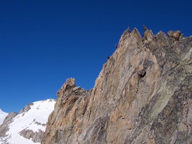 The classic south ridge of the Orny. Photo: Kolin Powick, Black Diamond
