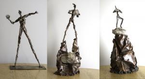 Award sculptures