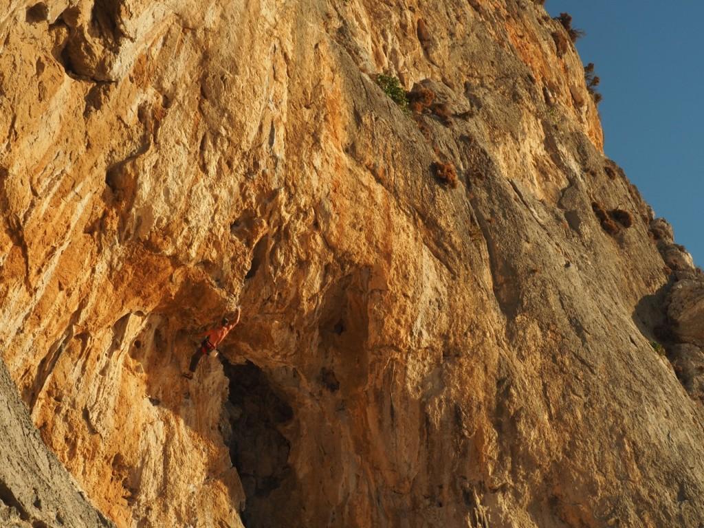 The cave at Gerakios