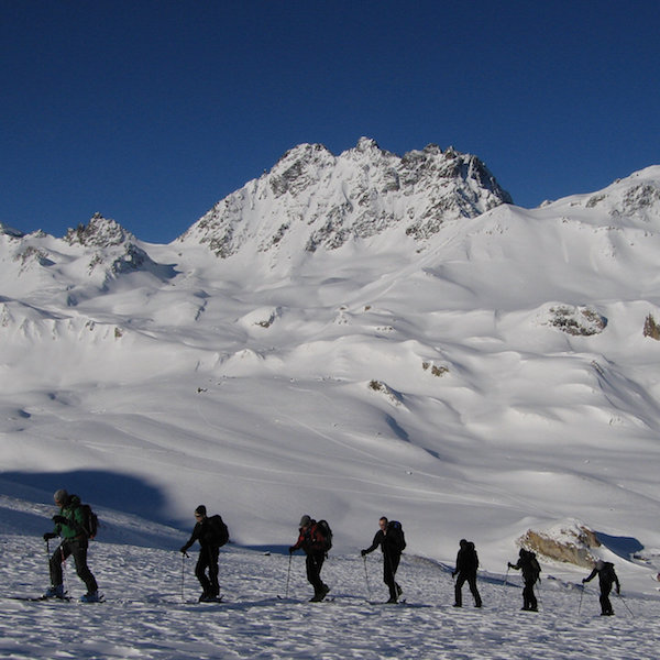 Hut to hut ski touring