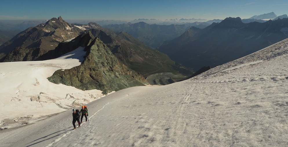 Pigne d'Arolla on the Haute Route