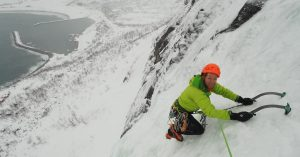 Darren Sheppard in Senja, Norway