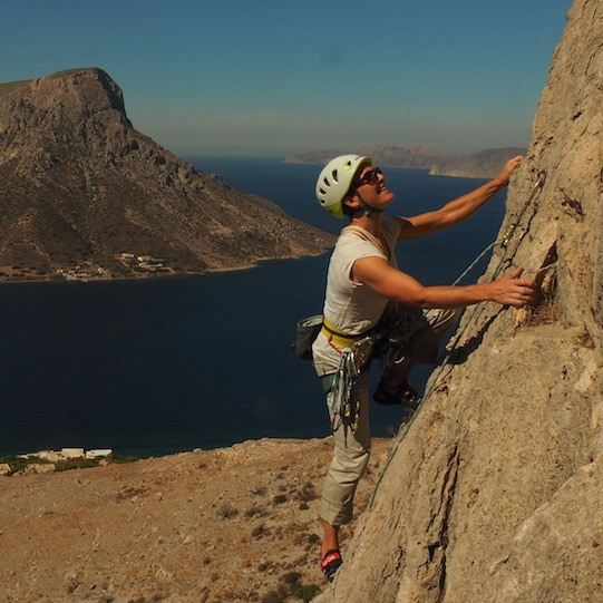 Julie Ann Clyma on Kalymnos