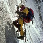 In 1991, I spent 17 days on Cerro Kishtwar's north face. Intensity of experience is my goal in my personal climbing, and this one had it in spades.