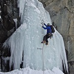Austria has a wealth of ice climbing venues. Just a couple of hours from Innsbruck as these beauties