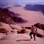 Thanks to Tony Howard, I was lucky to be involved in early development at Wadi Rum