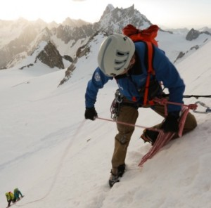 Filming for Arc'teryx in Chamonix
